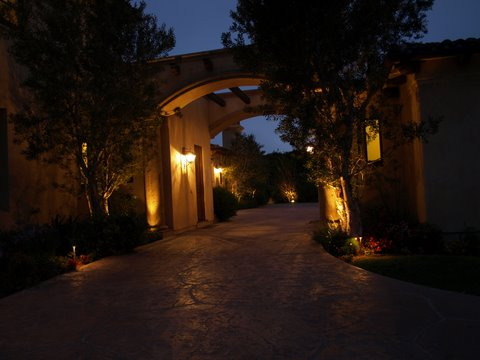 Exterior Lighting Conejo Valley Modern Outdoor  Lighting