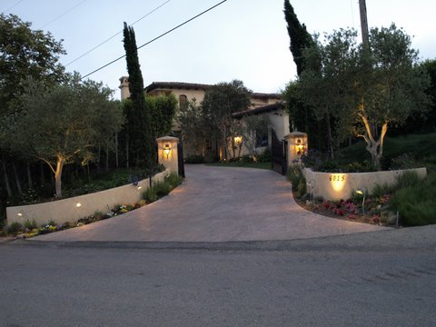 Exterior Lighting Conejo Valley